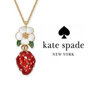 🔶️JUST IN🔶️ Kate Spade Strawberry Necklace